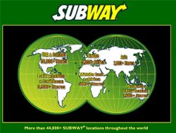 Subway Franchise Cost