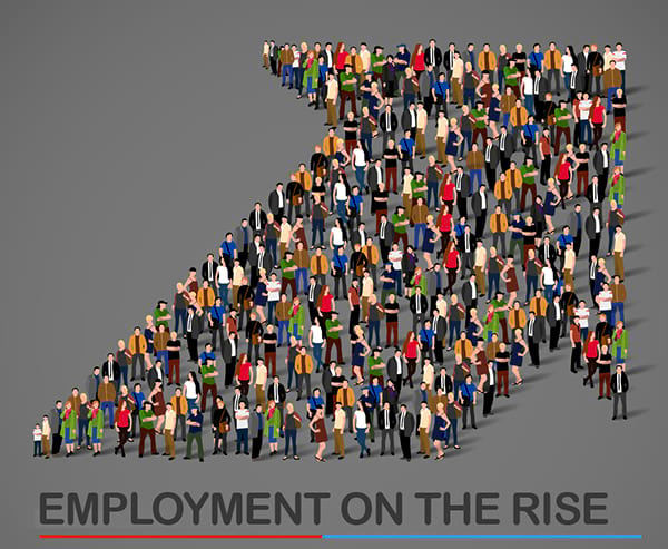 Employment graphic