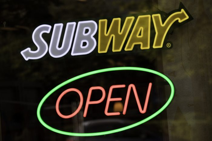 Fast Food Franchise Subway