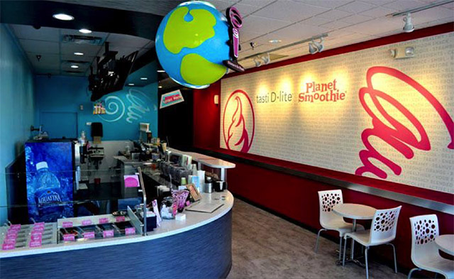 Planet Smoothie and Tasti D'Lite