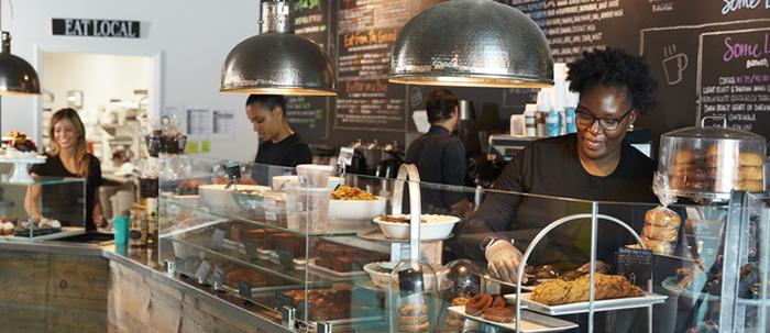coffee shop employees