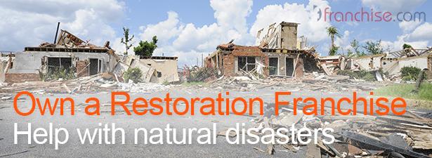 Own a restoration franchise