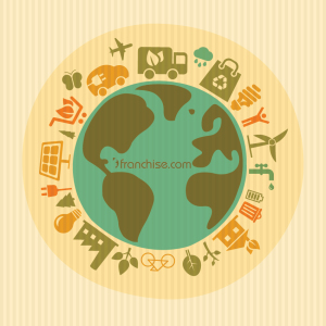 Check out earth friendly franchises on Franchise.com